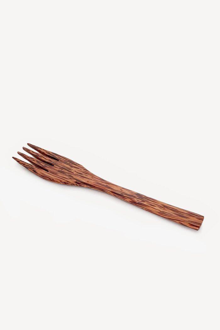 fourchette en bois de coco de la marque monjolibol