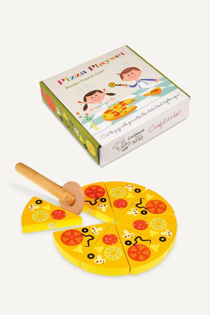 jeu pizza en bois