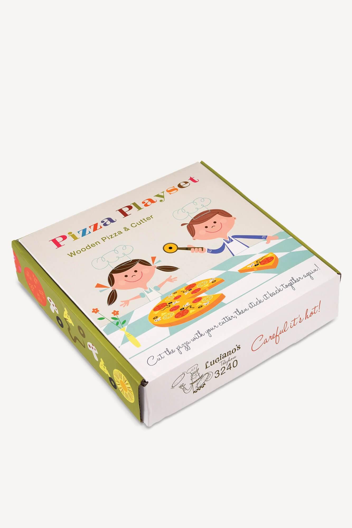 boite pizza jeu pour enfant
