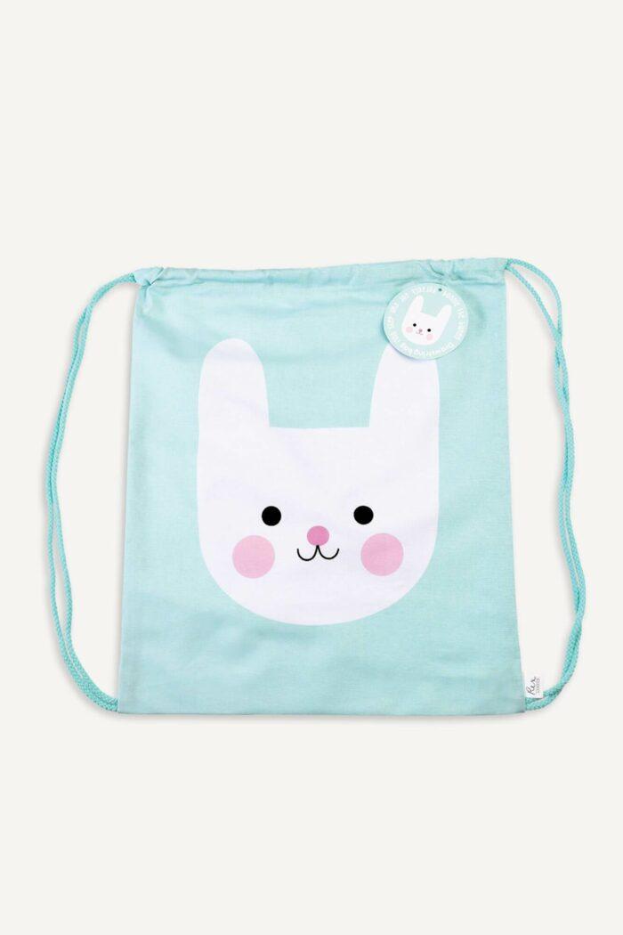 """sac à dos pour enfant """"Bonnie the bunny""""plié"""