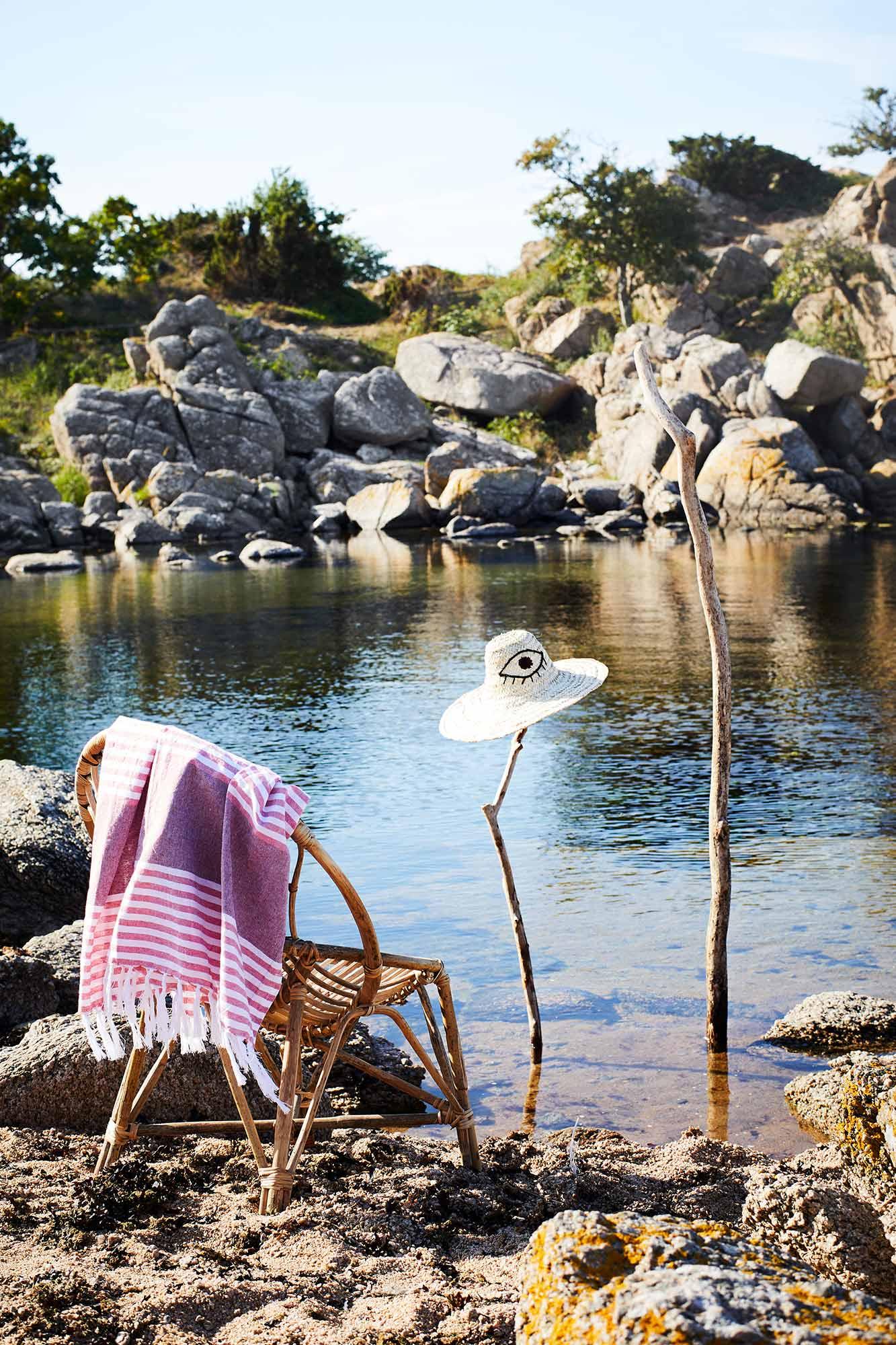 serviette de plage marque madam stoltz