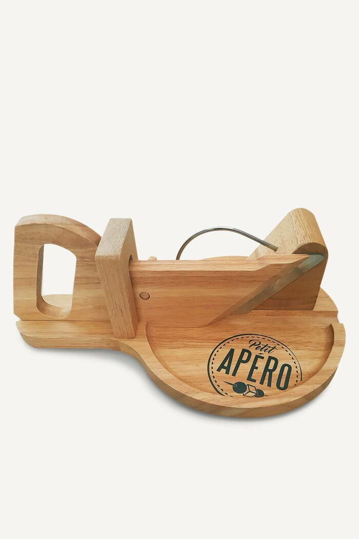 trancheuse à charcuterie en bois
